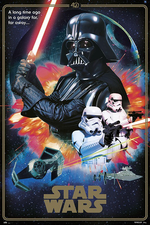 Star Wars Episode Iv A New Hope See It Framed Movie Posters Usa